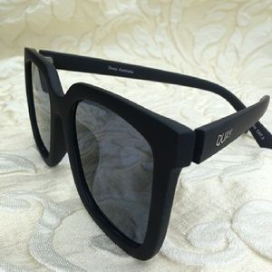 Quay Australia Accessories - Quay Genesis Matte Black Sunglasses
